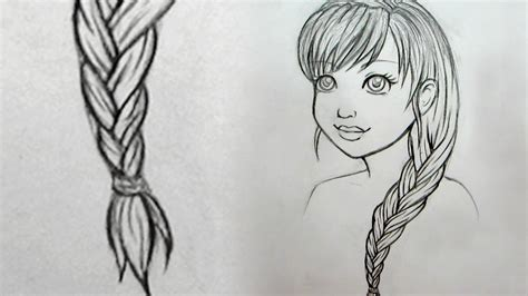 how to do doodle braids how to draw braids