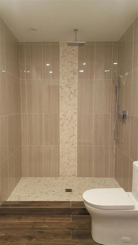 Tile Shower Ideas For Small Bathrooms 25 Best Ideas About Vertical Shower Tile On Pinterest Large Tile Shower Bathroom Tile