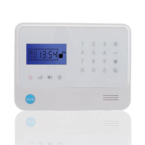 gsm alarm system with home automation feature
