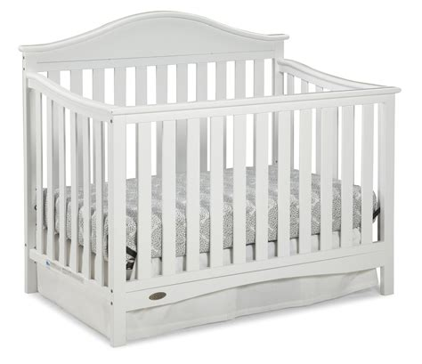 White Graco Convertible Crib Graco Graco Harbor Light Convertible Crib White Baby Baby Furniture Cribs