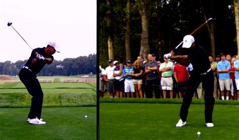 sean foley swing plane tiger woods golf swing under sean foley enlightening golf