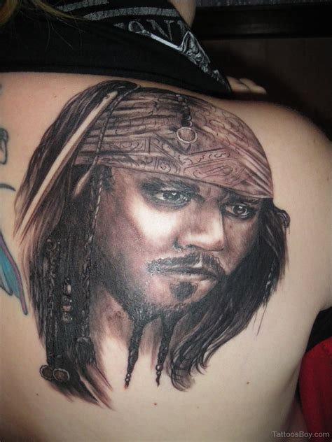 jack sparrow tattoos back tattoos designs pictures page 49