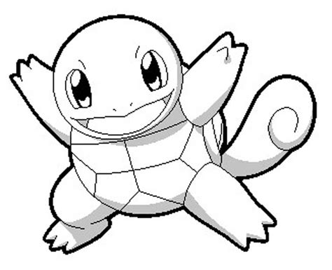 squirtle coloring pages barriee