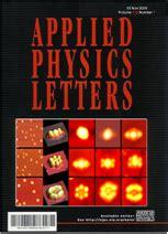 applied physics letters aqnmol prof jihoon at kwangwoon 광운대학교 전자 1080