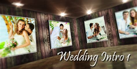 Wedding Intro 1 By Tissot Templates Videohive Wedding Intro Templates Free