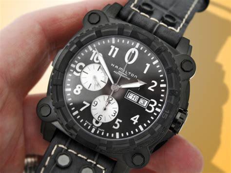 Hamilton Khaki Belowzero H78696393 hamilton khaki belowzero auto chronograph pvd ebay