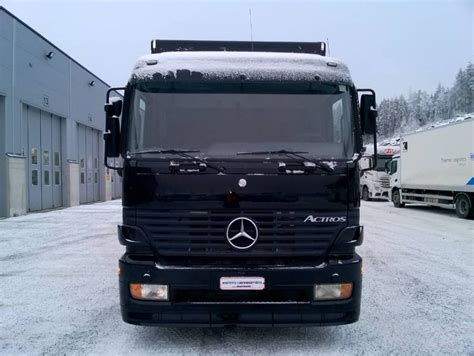 mercedes box truck for sale mercedes 1831l box truck from finland for sale at