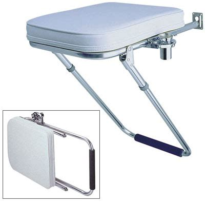 garelick side gunwale utility seat west marine - Side Boat Seats