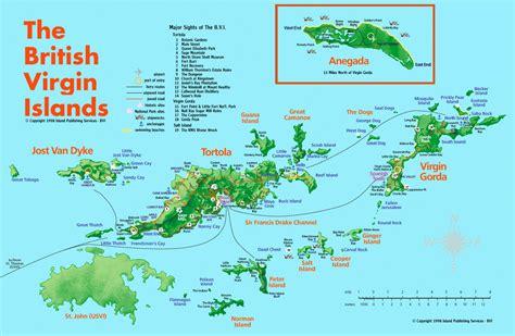 british virgin islands tourist map british virgin
