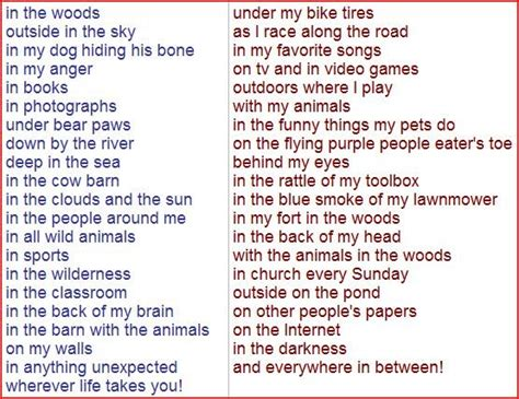 Poems About A Place Poems Homework Buy Essay