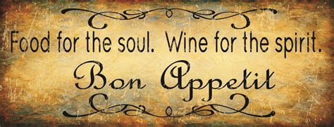 food for the spirit and the soul by robert neralich part 26 food for the soul wine for the spirit original metal