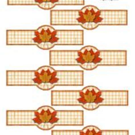 printable thanksgiving napkin ring craft autumn napkin ring for paper napkin