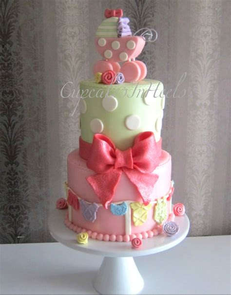 Baby Shower Carriage by Baby Shower Carriage Cake Cakecentral