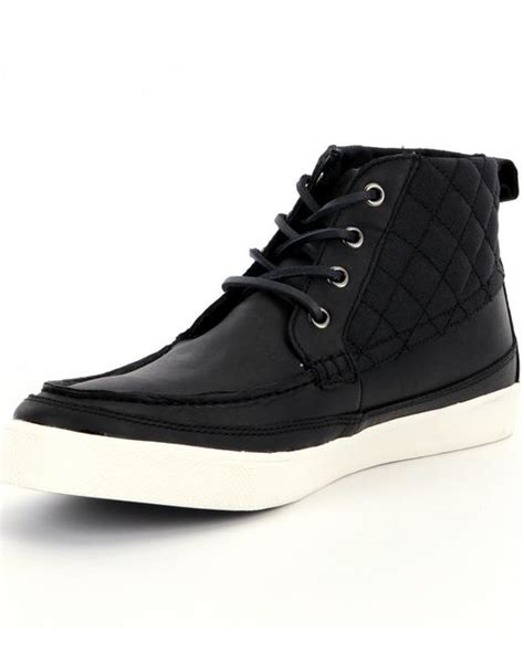 polo high top sneakers polo ralph tomas high top sneakers in black for