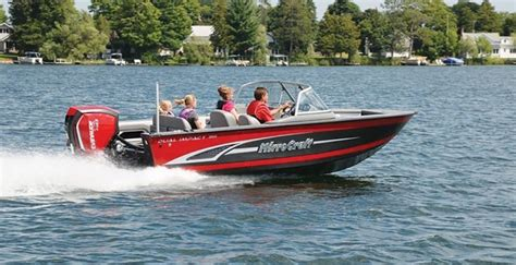 mirrocraft boat reviews mirrocraft dual impact 1866 boat test and review