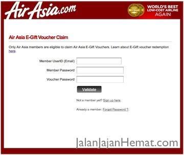airasia email id menggunakan electronic gift voucher airasia jalan jajan