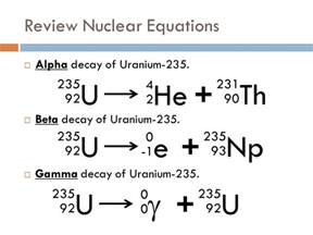 Number Of Protons In Uranium 235 What Causes Beta Decay Socratic