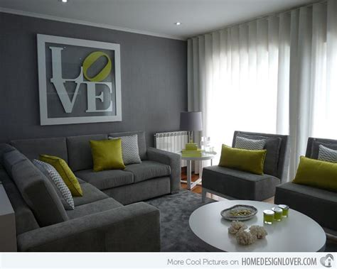 graue wand wohnzimmer 15 lovely grey and green living rooms home design lover