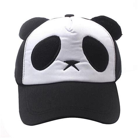 Topi Bayi 5 In 1 cheap hat 2016 baby child boys cotton panda baseball cap hat photography props