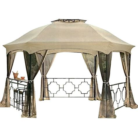 Hexagon Gazebo Garden Winds Dawson Hexagon Gazebo Replacement Canopy