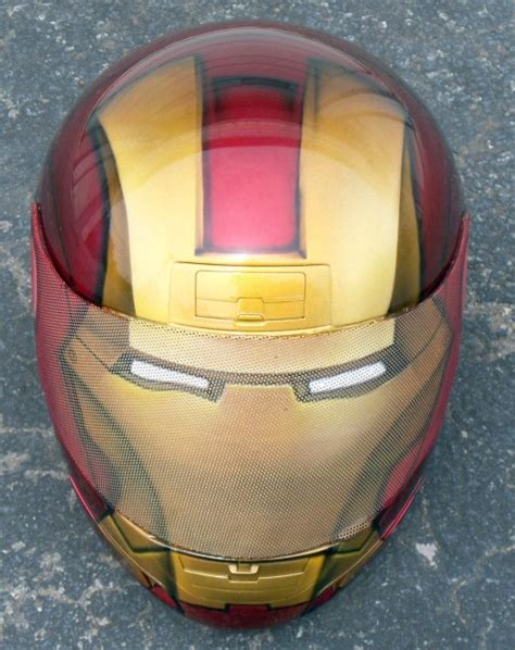 Iron Man Motorradhelm by 301 Moved Permanently