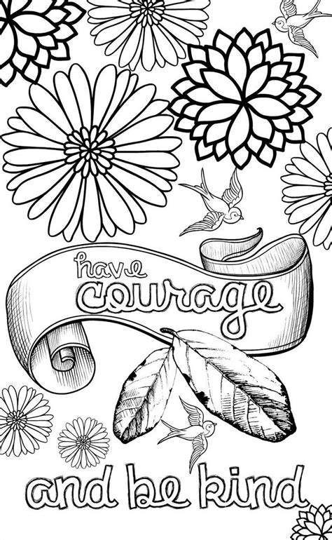 positive quotes coloring pages coloring pages