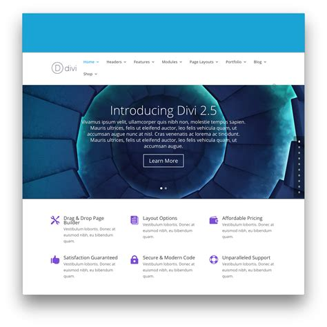 theme divi divi theme by themes 25 v3 3 1