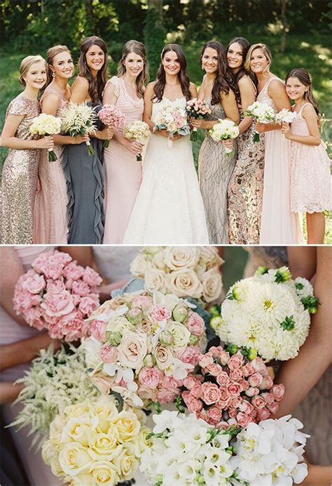 different color bridesmaid dresses 25 best ideas about different bridesmaid dresses on