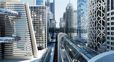 future models 3d model future futuristic architectural