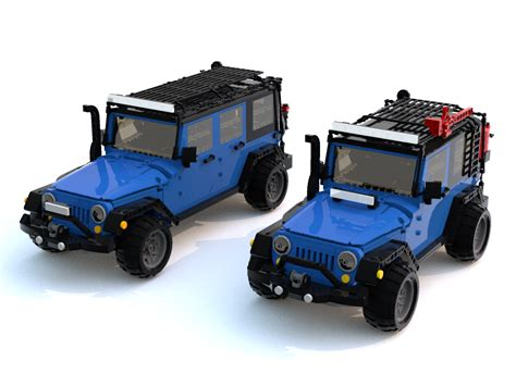 Lego Jeep Jks You Can Happen Jpfreek Adventure