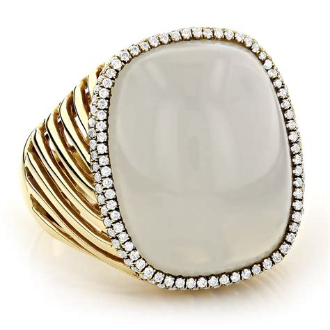 moonstone jewelry 14k white moonstone ring 17 2