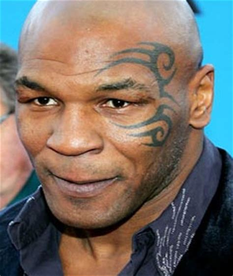 mike tyson face tattoo removed what we to say about mike tysons starsink