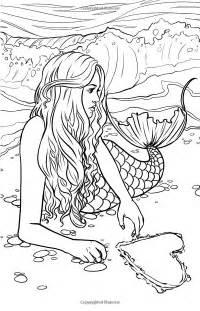 25 mermaid coloring ideas