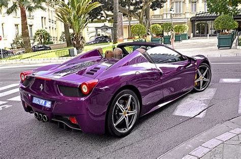 purple ferrari purple ferrari 458 spider de todo un poco pinterest