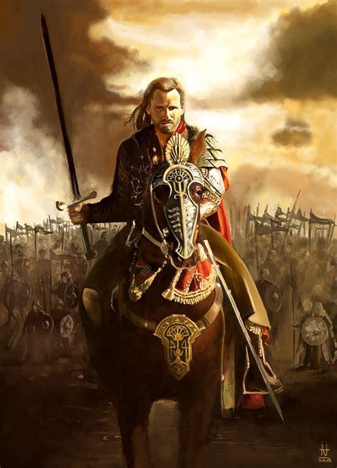 film perang kerajaan roland of gilead vs aragorn son of arathorn battles