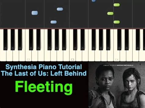 piano tutorial us and them piano tutorial the last of us left behind fleeting