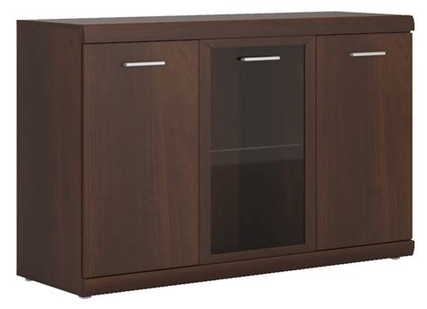 imperial mahogany home living furniture 3 door glazed
