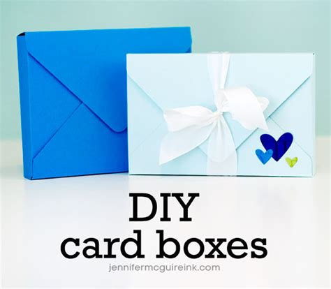 how to make card boxes card boxes mcguire ink