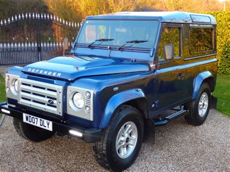 blue land rover used cairns blue land rover defender for sale essex