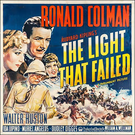 the light that failed ronald colman in quot the light that failed quot 1939