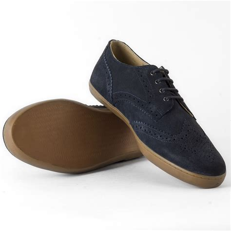 Sepatu Fred Perry E Navy fred perry ealing mens shoes in navy