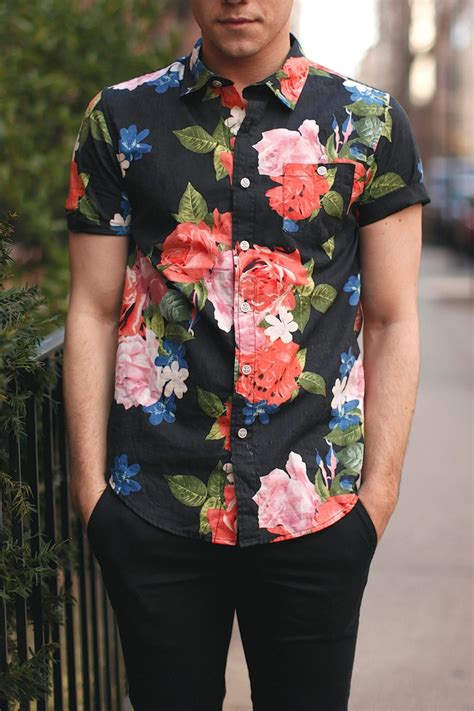 pattern shirt to wedding men s floral shirt scout sixteen men s trend floral