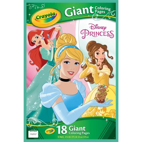 crayola coloring pages disney princess crayola giant coloring pages shopkins and disney