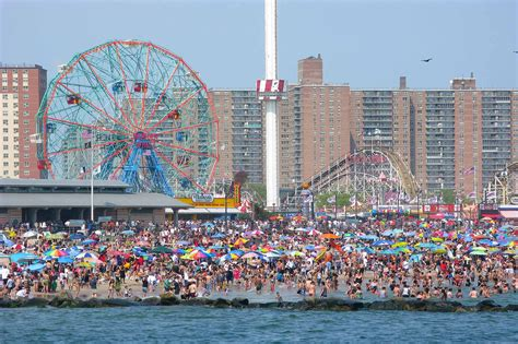 coney island new york attractions coney island slide show