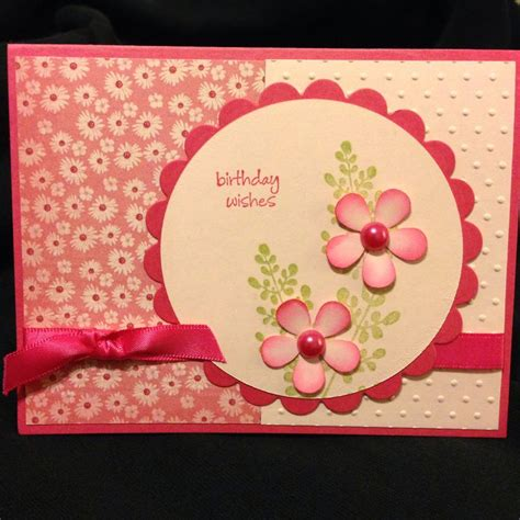 birthday card ideas for mom my moms birthday card my handmade cards pinterest