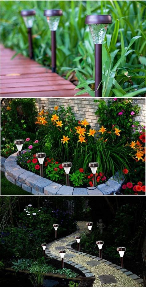 Garden Decorations Solar by Solar Powered Garden Decor Home Outdoor Decoration