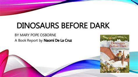 dinosaurs before book report s book report
