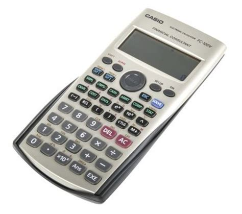 Casio Financial Calculator Fc 100v casio fc 100v um financial calculator for sale in
