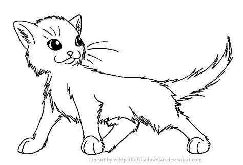 images  warrior cat coloring pages