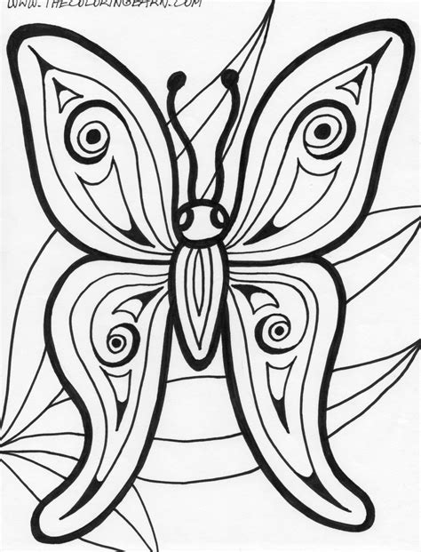 coloring pages for adults cute cute butterfly coloring pages for adults coloring home